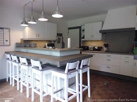 cuisine cottage rénovation cuisine en chêne granit en cuisine