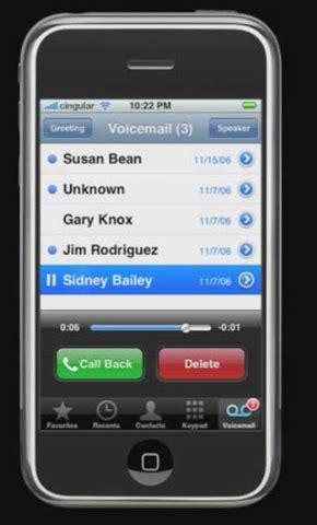 t mobile voicemail iphone iphone visual voicemail is 2007 s best feature intomobile