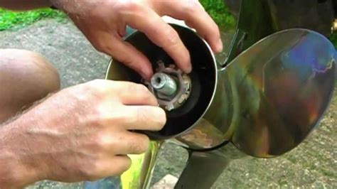 How To Remove A Boat Propeller by How To Change A Boat Propeller Iboats
