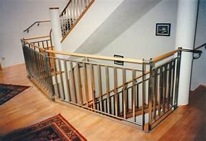 Treppengeländer Selber Bauen Stahl : treppengel nder holz mit edelstahl ~ Lizthompson.info Haus und Dekorationen