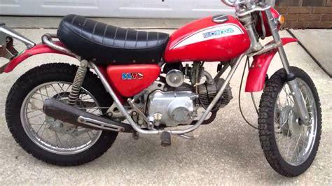 1971 Honda Sl70 Walk Around Detail Youtube