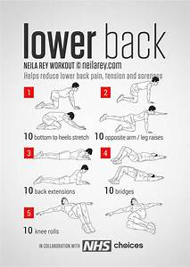 22 Best Lower Back Pain Exercises And Stretches Pictures