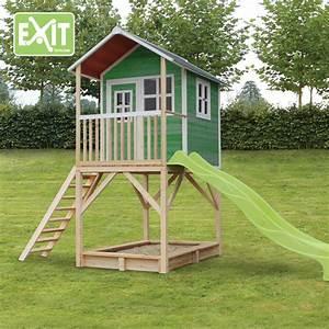 Kinder Holzhaus Garten : kinder spielhaus exit loft 700 kinderspielhaus ~ Whattoseeinmadrid.com Haus und Dekorationen