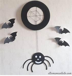 Masque Halloween A Fabriquer : tuto diy d 39 halloween l 39 araign e base d 39 assiette en ~ Melissatoandfro.com Idées de Décoration