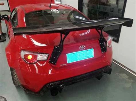 fit  toyota gt gt gt gredd  carbon fiber rear