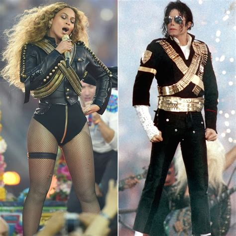 beyonces  michael jacksons military inspired super