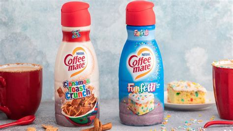 As a black coffee lover, i have not experienced coffee creamer flavors. Coffee-Mate reveals 'Cinnamon Toast Crunch' and 'Funfetti' creamers | wzzm13.com