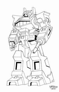 Transformers G1 Shockwave Coloring Page Sketch Coloring Page