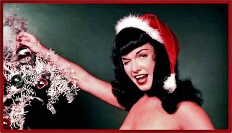 betty page under the christmas tree 122 best retro vintage images on