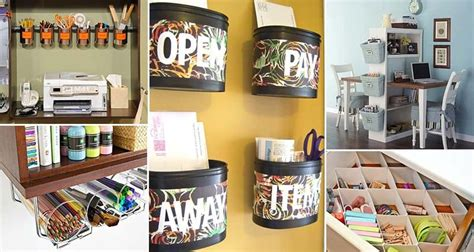 15 Awesome Diy Ways To Organize Your Office