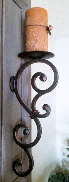 rod iron wall sconces wrought iron wall sconces for candles foter