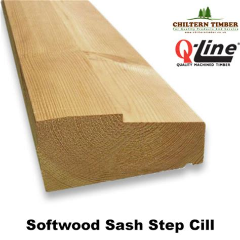 Hardwood Window Cill by Sash Cill Softwood Step 69 X 144mm Chiltern Timber