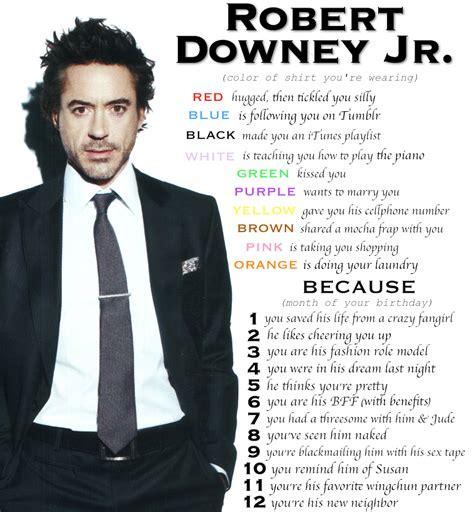 Robert Downey Meme - tiptoe through the tulips with me
