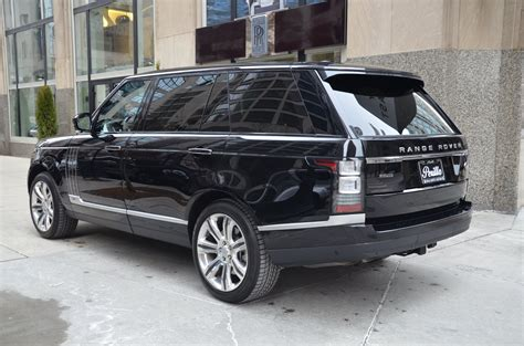 range rover autobiography 2015 land rover range rover autobiography black lwb stock