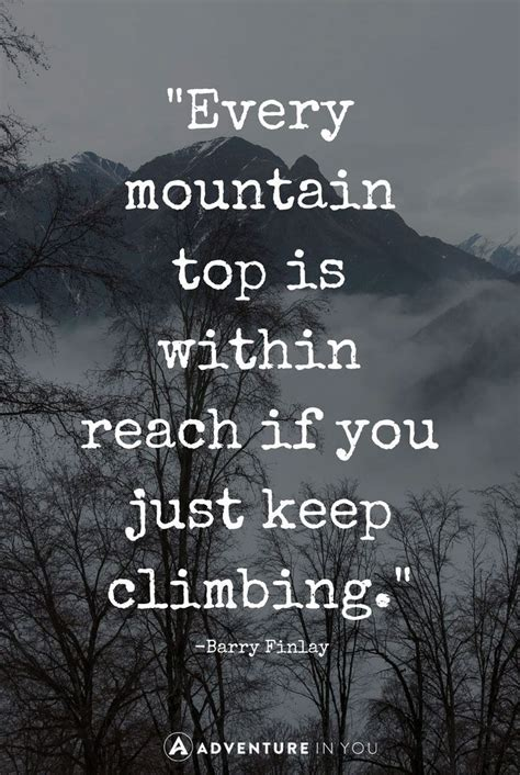 mountain quotes  inspire  quotes mountain