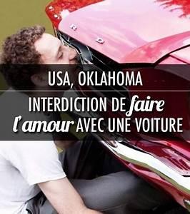 Vendre Une Voiture Dans L état : photo interdiction de faire l 39 amour avec une voiture dans l 39 etat de l 39 oklahoma aux etats unis ~ Medecine-chirurgie-esthetiques.com Avis de Voitures