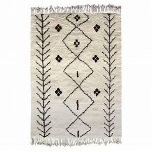 Tapis Marocain Style Berbre 100 Laine Carry Patta