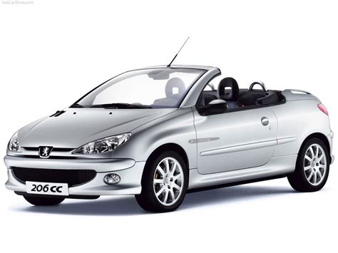 Peugeot 206 Cc by 2002 Peugeot 206 Cc Pictures Information And Specs