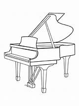 Instruments Musical Fun Coloring Pages sketch template
