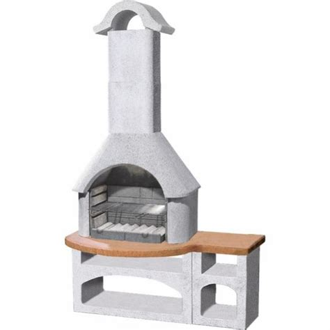 buschbeck bozan barbecue fireplace  combined side
