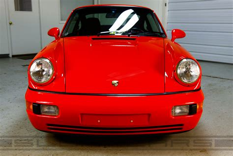 guards red porsche 1993 porsche 964 rs america coupe 18 579 miles sloan cars