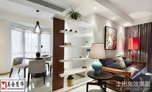 Example Design Of Divider For Living Room by Modern Style Living Room Dividers Dining Decoration Effect Picture Living Room
