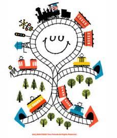 Cartoon Train Illustration