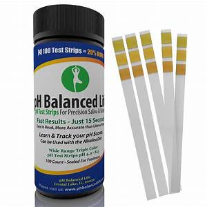 pH Test Strips by pH Balanced Life Continues to Hold ...  Ph