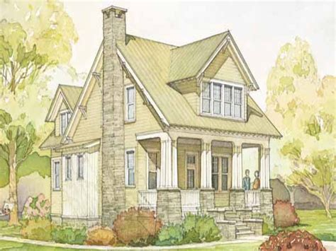 southern living cottage style house plans  country