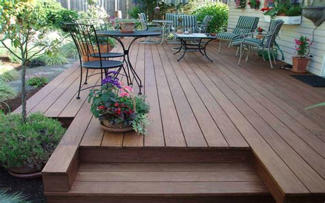 Patio Deck by Premium Hardwood Flooring Decking Usa Wood Products