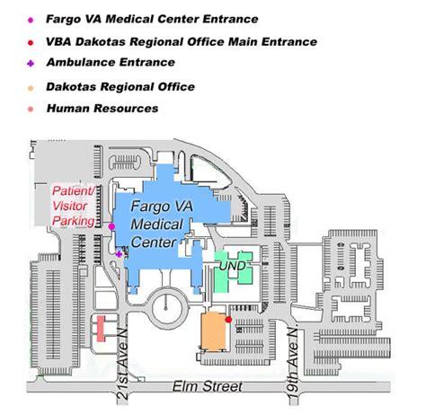 facility map fargo va health care system