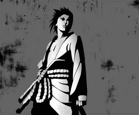 poster gambar wallpaper sasuke uchiha naruto shippuden