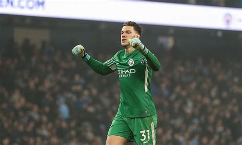 Manchester City's Ederson hails his team's style of play ...