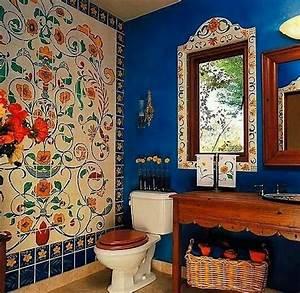 15, Attractive, Bohemian, Bathrooms, Ideas