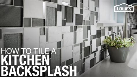 tile  kitchen backsplash youtube