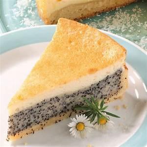 Mohn Schmand Torte Rezept Küchengötter