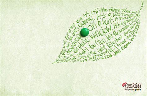 beautiful creative typography print ads hongkiat