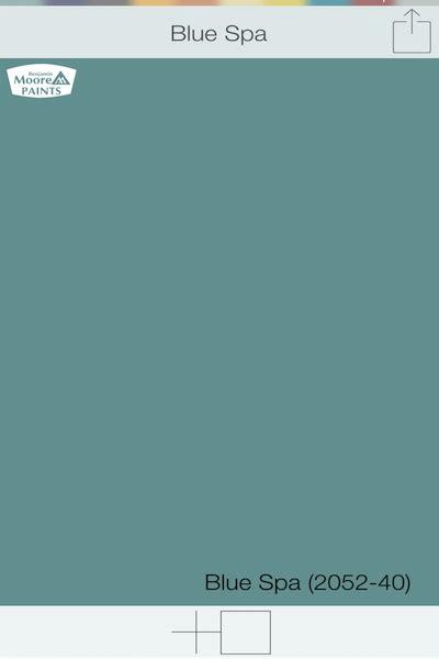 blue green front door colors blue spa 2052 40 benjamin