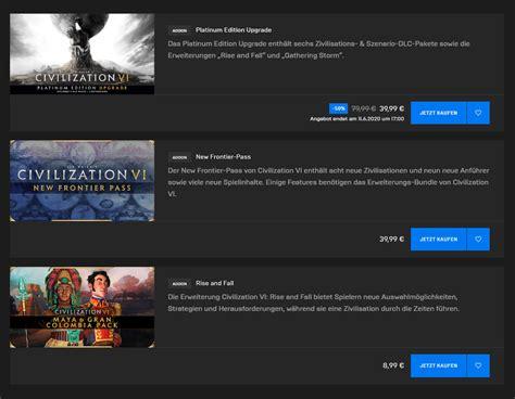 Civilization 6 kostenlos für kurze Zeit im EPIC Games ...