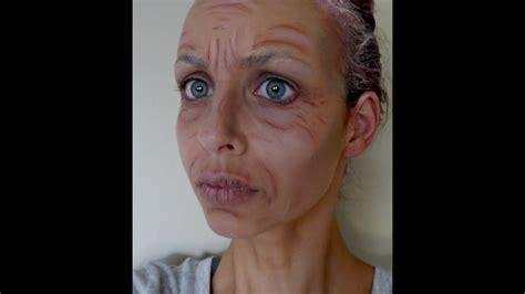 Granny Makeup Transexual You Porn