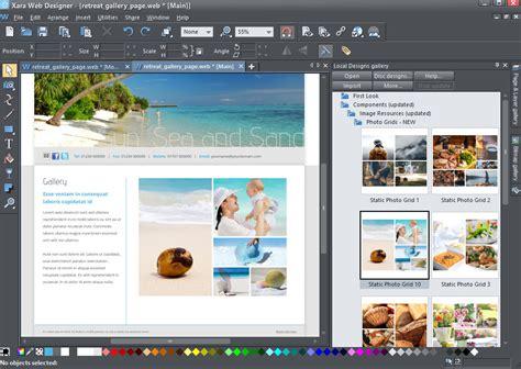 xara web designer xara web designer 365 free software reviews