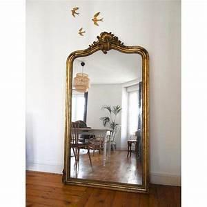 Grand Miroir Vintage : grand miroir style baroque id es de d coration int rieure french decor ~ Teatrodelosmanantiales.com Idées de Décoration