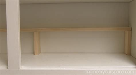 additional shelves for kitchen cabinets small kitchen ideas add an extra shelf in your upper