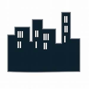 Buildings icon Free Vector / 4Vector