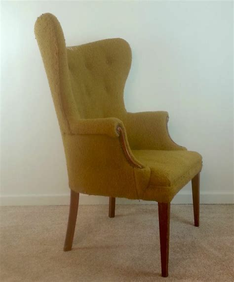 Vintage Butterfly Chair by Vintage Butterfly Wingback Chair Sheraton Hepplewhite