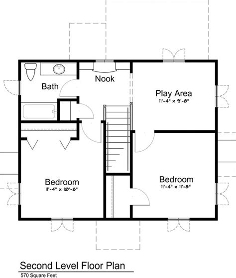 Cottage Style House Plan 3 Beds 2 Baths 1292 Sq/Ft Plan