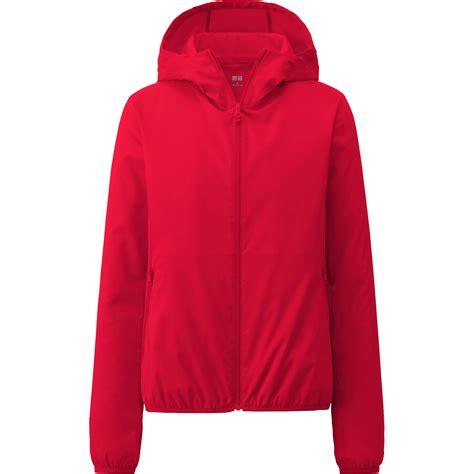 uniqlo jacket uniqlo pocketable hooded jacket in lyst