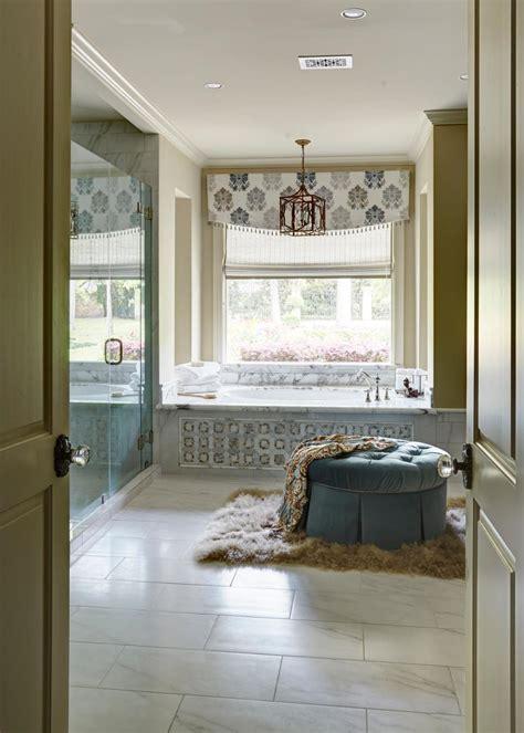 marble bathtub  decorative tile side panel tufted