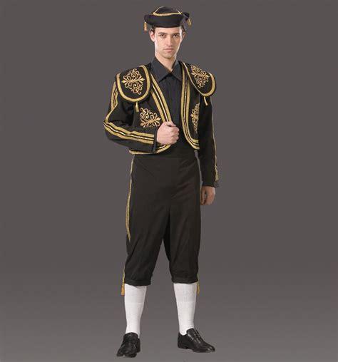 Excellent Men's Spanish Matador Bullfighter Costume Med Men