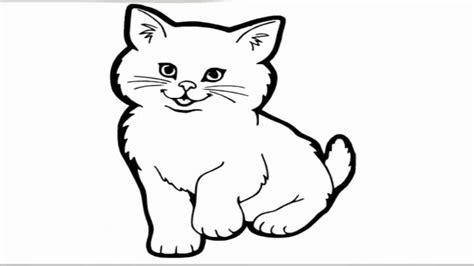 gambar kucing comel hitam putih